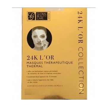 Global Beauty Care 24k Gold Spa Treatment Mask