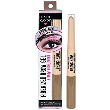 Hard CandyBrows Now Fiberized Brow Gel & Brow Highlighter - 849 Light/Medium