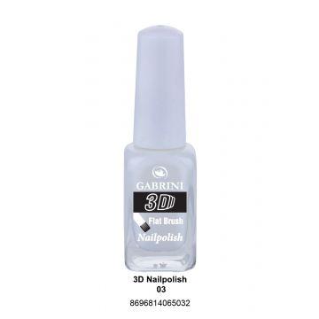 Gabrini 3D Nail Polish # 03 13ml - 10-19-00002