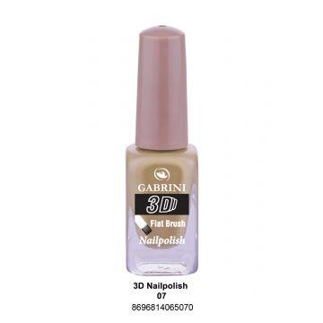 Gabrini 3D Nail Polish # 07 13ml - 10-19-00004