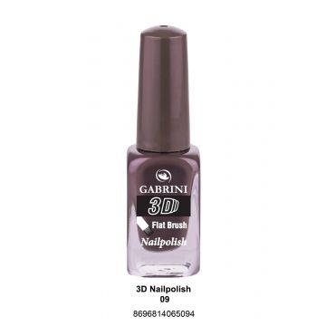 Gabrini 3D Nail Polish # 09 13ml - 10-19-00005