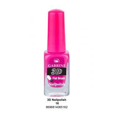 Gabrini 3D Nail Polish # 16 13ml - 10-19-00009