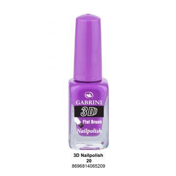 Gabrini 3D Nail Polish # 20 13ml - 10-19-00010