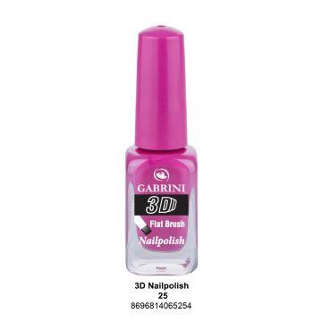 Gabrini 3D Nail Polish # 25 13ml - 10-19-00012