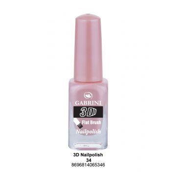 Gabrini 3D Nail Polish # 34 13ml - 10-19-00015
