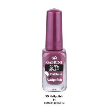 Gabrini 3D Nail Polish # 51 13ml - 10-19-00023