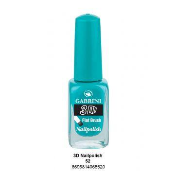 Gabrini 3D Nail Polish # 52 13ml - 10-19-00024