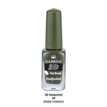 Gabrini 3D Nail Polish # 60 13ml - 10-19-00028