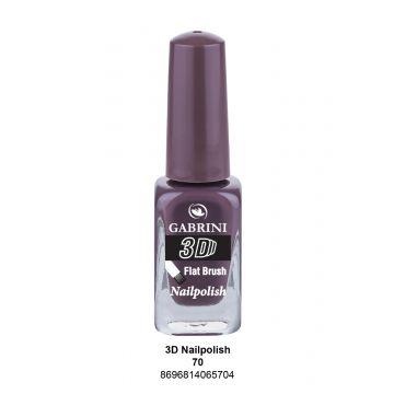 Gabrini 3D Nail Polish # 70 13ml - 10-19-00030