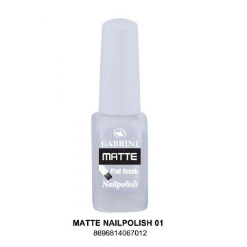 Gabrini Matte Nail Polish # 01 13gm - 10-21-00001