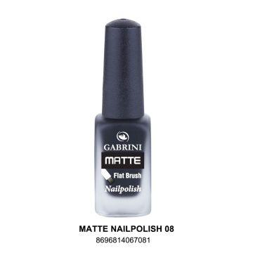 Gabrini Matte Nail Polish # 08 13gm - 10-21-00003