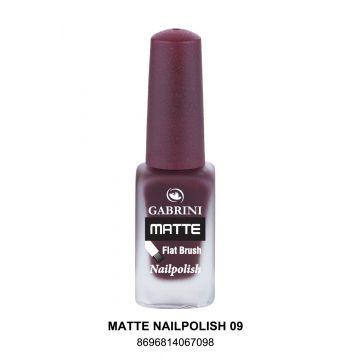 Gabrini Matte Nail Polish # 09 13gm - 10-21-00004
