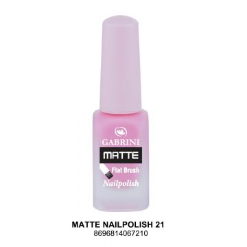 Gabrini Matte Nail Polish # 21 13gm - 10-21-00006
