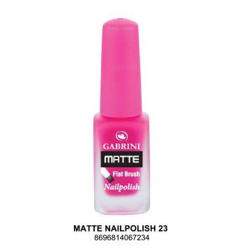 Gabrini Matte Nail Polish # 23 13gm - 10-21-00008