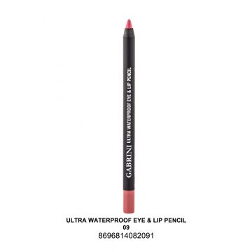 Gabrini Ultra Water Proof 1 Pencil # 09 1.5 gm - 10-17-00006