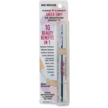 Hard Candy Sheer Envy Eye Brightening Concealer - 940 Medium