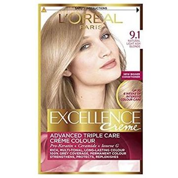 L'Oreal Excellence Creme 9.1 Very Light Ash Blonde - 952
