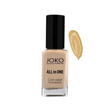 JOKO Makeup All In One Foundation - Dark beige 113 - NJPO10060-B