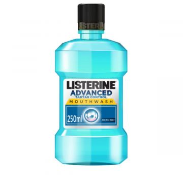 Listerine Advanced Tartar Control, Anti-Bacterial Antiseptic, Arctic Mint Mouthwash - 250ml - 3574661197326