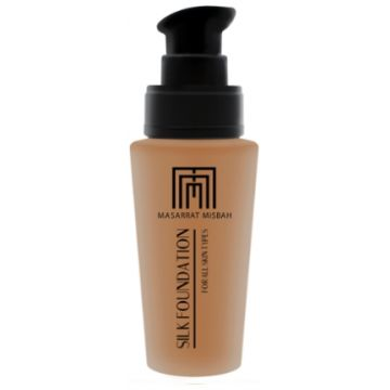 Masarrat Misbah Makeup Silk Foundation - Almond