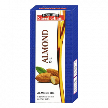 Saeed Ghani Non Sticky Almond Oil - 200ml - 8964000507834