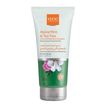 VLCC Alpine Mint & Tea Tree Gentle Refreshing Face Wash - 150ml