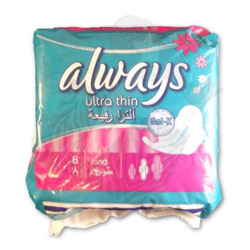 Always Ultra Thin Long 8 Sanitary Pads