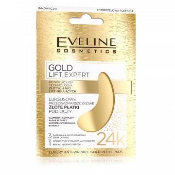 Eveline Gold Lift Expert Luxury Anti Wrinkle Golden Eye Pads - 07-04-00016