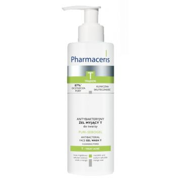 Pharmaceris Antibacterial Gel Wash - 190ml
