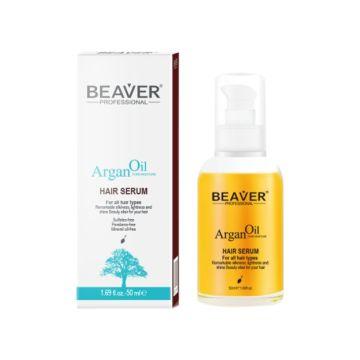 Beaver Argan Oil Hair Serum - 50ml - AOHS01
