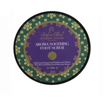 Sabai Thai Aroma Soothing Foot Scrub Rice Milk 200ml - SBT-022
