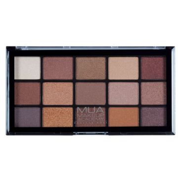 MUA Pro 15 Shade Eyeshadow Palette - Au Naturel