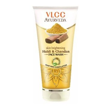 VLCC Ayurveda Skin Brightening Haldi & Chandan Face Wash - 100ml