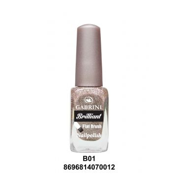 Gabrini Brilliant Nail Polish # 01 13gm - 10-20-00001
