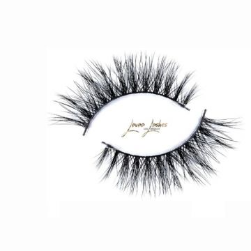 Lavaa Lashes Invisible 3D Mink Collection - Badass