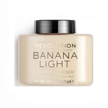 Makeup Revolution Loose Baking Powder Banana Light
