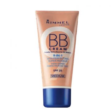 Rimmel BB Cream 9 in 1 Skin Perfecting Super Makeup - Medium - 034-720 - 3614222915720 - BBcream