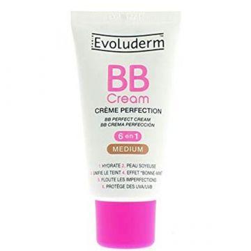 Evoluderm BB Cream 6x1 Medium - 50ml