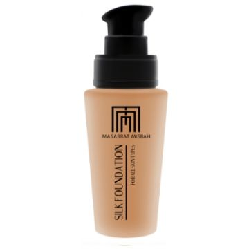 Masarrat Misbah Makeup Silk Foundation - Beige