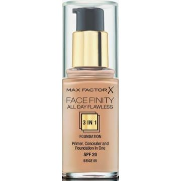 Max Factor Facefinity 3-IN-1 Foundation - Beige - 55 - 3614225851629