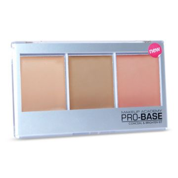 MUA Pro-Base Conceal & Brighten Kit - Beige