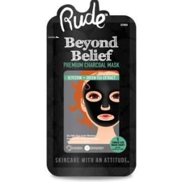 Rude Beyond Belief Charcoal Face Mask - 87869