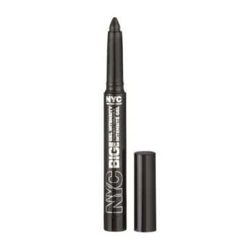 NYC Big Bold Gel Intensity Eyeliner - Leather Black  - BB