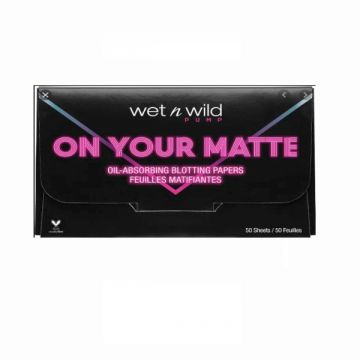 Wet N Wild on You Matte Blotting Papers 50 Sheets - US