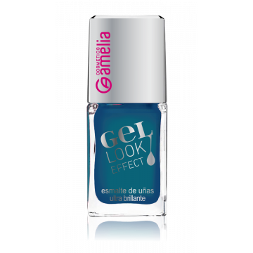 Amelia Gel Look Effect Nail Polish - Blue Sea