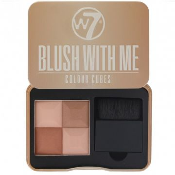 W7 Cosmetics Blush With Me Colour Cubes - Cassie Mac