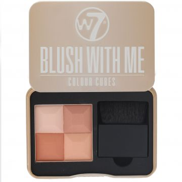 W7 Cosmetics Blush With Me Colour Cubes - Honeymoon