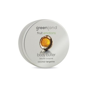 Greenland Bodycare Fruit Emotions Body Butter Coconut-Tangerine - 100Ml - FE0052