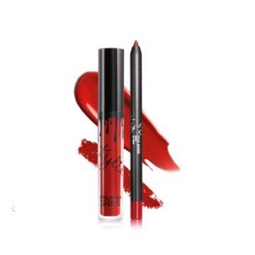 Kylie Matte Liquid Lipstick & Lip Liner - Boss - US