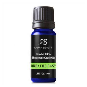 Radha Essential Oil Blends - Breathe Easy - 10ml - J4G